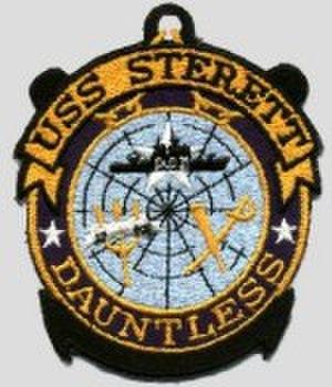 USS Sterett (CG-31) - Image: USS Sterett (CG 31) Badge