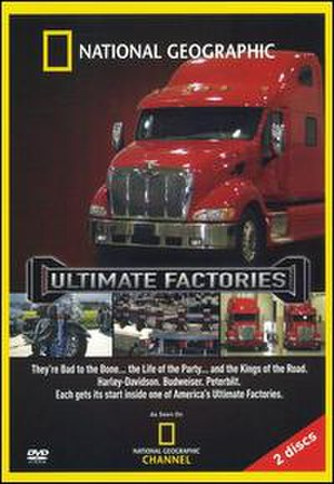 Ultimate Factories - DVD cover
