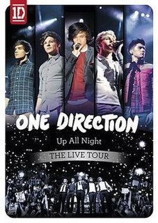 <i>Up All Night: The Live Tour</i> 2012 video by One Direction
