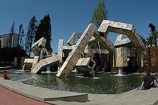<i>Vaillancourt Fountain</i> Fountain in San Francisco