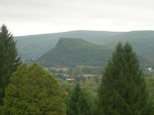 Vroman's Nose from the Middleburgh Upper Cemetery