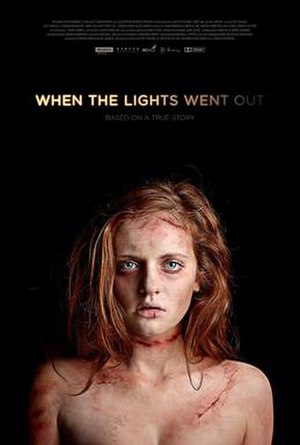 When the Lights Went Out - Official poster featuring star Tasha Connor
