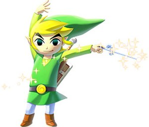 Link (The Legend of Zelda) - Toon Link, as depicted in The Legend of Zelda: The Wind Waker