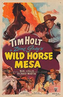 <i>Wild Horse Mesa</i> (1947 film) 1947 film by Wallace Grissell