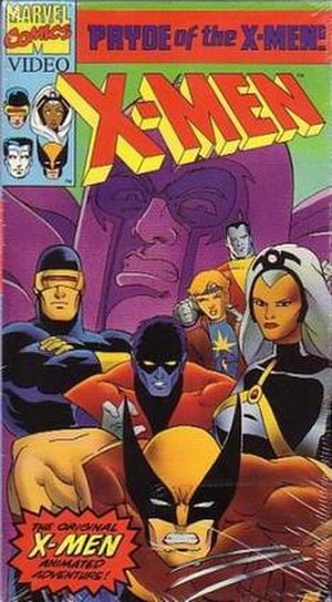X-Men: Pryde of the X-Men - Image: X men pryde of the x men cover