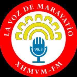 XHMVM-FM - Image: XHMVM FM logo