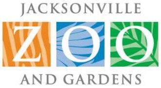 Jacksonville Zoo and Gardens - Image: Zoo Logo White