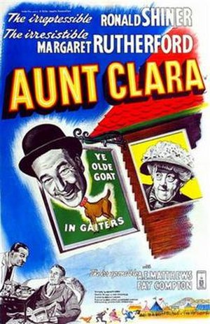 Aunt Clara (film) - UK theatrical poster