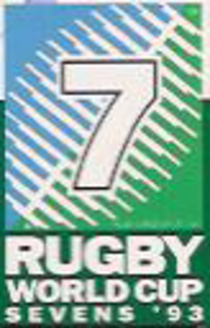 1993 Rugby World Cup Sevens - Image: 1993Rugby World Cup