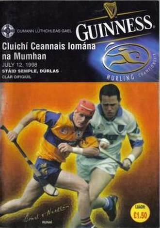 Waterford GAA - 1998 Munster Final Programme