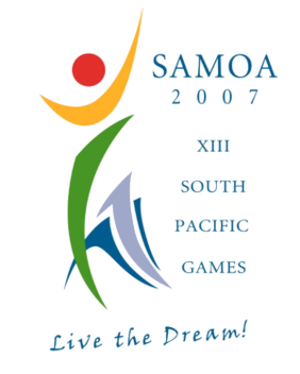 2007 Pacific Games - Image: 2007 South Pacific Games logo
