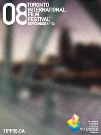2008 Toronto International Film Festival - Festival poster