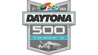 2015 Daytona 500 - Image: 2015 Dayton 500 logo
