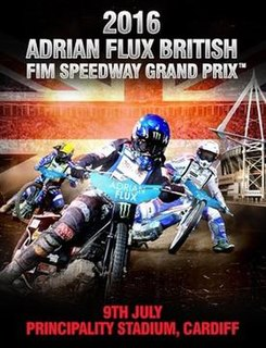 2016 Speedway Grand Prix of Great Britain Motorcycle race