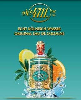 4711 German cologne