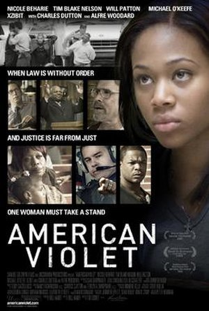 American Violet - Theatrical release poster