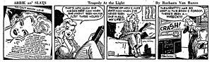 Abbie an' Slats - Abbie an' Slats daily (January 23, 1945)
