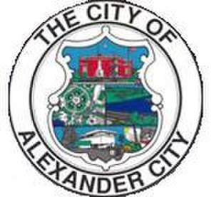 Alexander City, Alabama - Image: Alexander City AL Seal