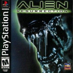 Alien: Resurrection (video game) - Image: Alien Resurrection VG cover art