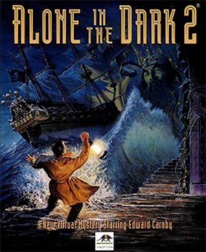 Alone in the Dark 2 (video game) - Cover art