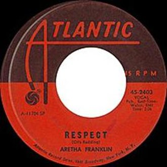 Respect (song) - Image: Aretha Respect