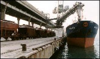 Port of Ashdod - Bulk cargo in transit
