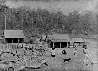 Aspley, Queensland - Matthew's Farm in 1887, which would become the site of Aspley State School