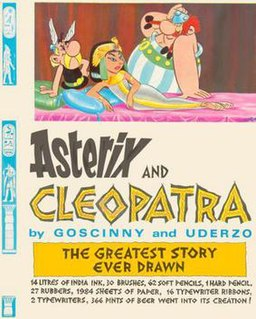 <i>Asterix and Cleopatra</i> sixth book in the Asterix comic book series