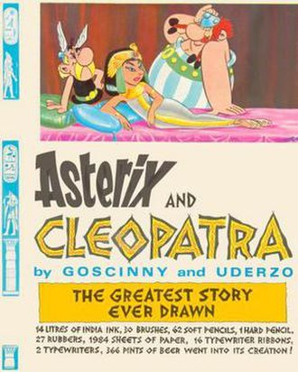 Asterix and Cleopatra - Image: Asterixcover 6