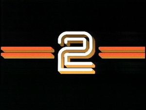 BBC Two 'Computer Generated 2' ident - The electronic 2 ident