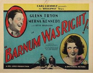 <i>Barnum Was Right</i> 1929 film