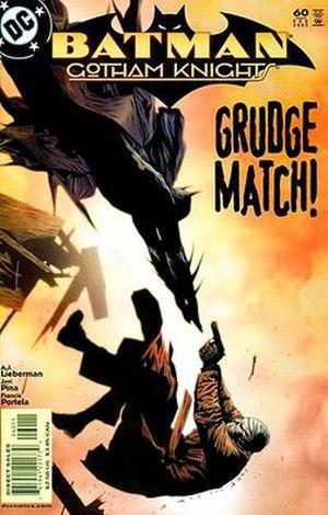 Hush (comics) - Image: Batman Gotham Knights 60
