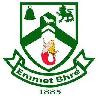 Bray Emmets GAA - Image: Bray Emmets GAA crest