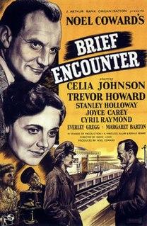 <i>Brief Encounter</i> 1945 British film directed by David Lean