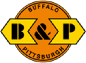 Buffalo and Pittsburgh Railroad - Image: Buffalo and Pittsburgh Railroad logo