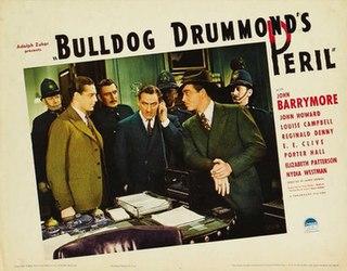 <i>Bulldog Drummonds Peril</i> 1938 film by James P. Hogan