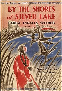 <i>By the Shores of Silver Lake</i> American childrens novel, 1939, fifth in the Little House series