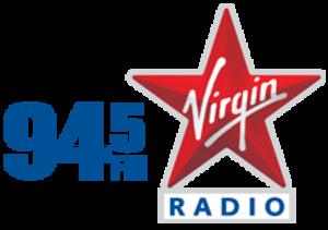 CFBT-FM - Image: CFBT 94.5Virgin Radio logo