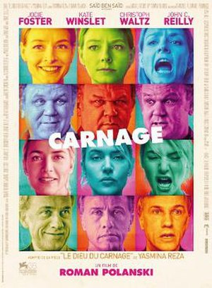 Carnage (2011 film) - Theatrical release poster