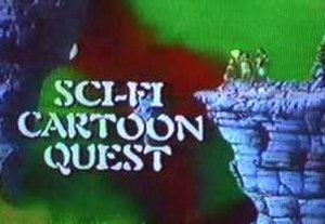 Cartoon Quest - The Cartoon Quest logo used from 1992-1995