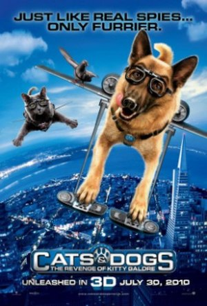 Cats & Dogs: The Revenge of Kitty Galore - Theatrical release poster