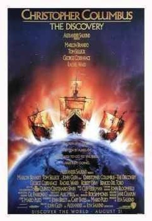 Christopher Columbus: The Discovery - Theatrical release poster by John Alvin