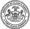 Official seal of Borough of Clarks Summit