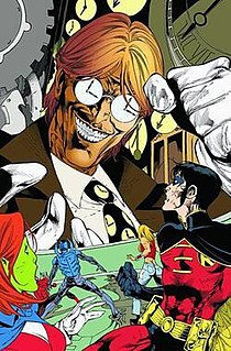 Clock King Two fictional characters, supervillains published by DC Comics