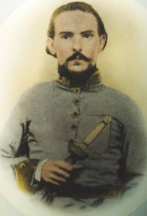 11th Arkansas Infantry Regiment - Colonel John L. Logan, Commander 11th/17th Consolidated Arkansas Infantry Regiment (Mounted)