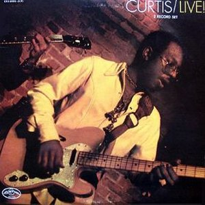 Curtis/Live! - Image: Curtis Mayfield 1971 Live album cover