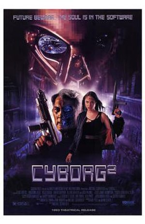 Cyborg 2 - Video release poster