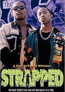 <i>Strapped</i> 1993 television crime-thriller/drama directed by Forest Whitaker