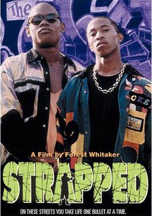 Strapped - Image: DVD cover of Strapped