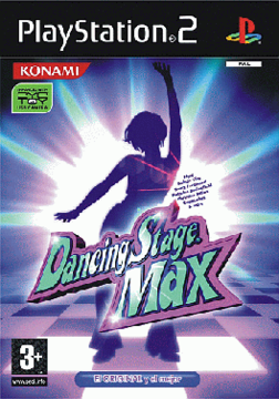 Dancing Stage Max for the European PlayStation 2